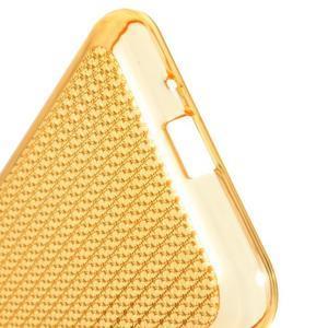 Diamond gelový obal na mobil Samsung Galaxy J3 (2016) - zlatý - 4
