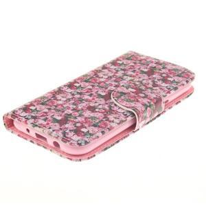 Standy peněženkové pouzdro na Samsung Galaxy J5 - růže - 4