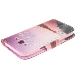 Standy peněženkové pouzdro na Samsung Galaxy J5 - enjoy - 4