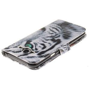 Standy peněženkové pouzdro na Samsung Galaxy J5 - tygr - 4