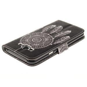 Standy peněženkové pouzdro na Samsung Galaxy J5 - lapač snů - 4