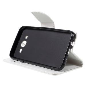 Peněženkové pouzdro na mobil Samsung Galaxy J5 - bílé - 4