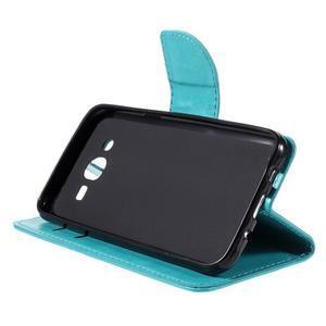 Peněženkové pouzdro na mobil Samsung Galaxy J5 - modré - 4