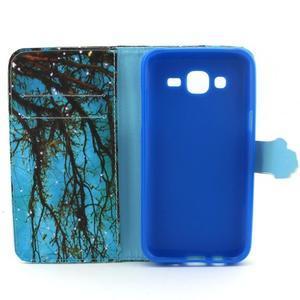 Knížkové pouzdro na mobil Samsung Galaxy J5 - strom - 4