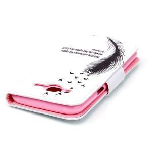 Emotive pouzdro na mobil Samsung Galaxy J5 - ptačí peříčko - 4