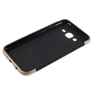 Odolný obal na mobil Samsung Galaxy J5 - champagne - 4