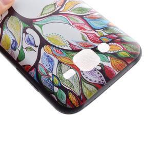 Jelly gelový obal na mobil Samsung Galaxy J5 - malovaný strom - 4