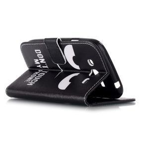Pictu peněženkové pouzdro na Samsung Galaxy J5 - nešahat - 4