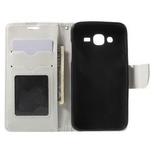 Crossy koženkové pouzdro na Samsung Galaxy J5 - bílé - 4