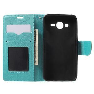 Crossy koženkové pouzdro na Samsung Galaxy J5 - modré - 4
