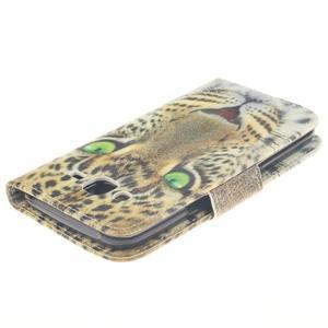 Standy peněženkové pouzdro na Samsung Galaxy J5 - gepard - 4