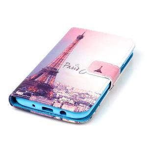 Pictu peněženkové pouzdro na Samsung Galaxy J5 - Eiffelova věž - 4
