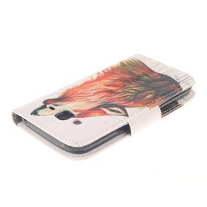 Standy peněženkové pouzdro na Samsung Galaxy J5 - lesní vlk - 4