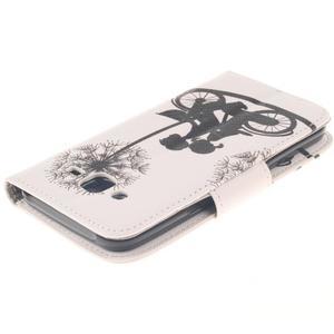 Standy peněženkové pouzdro na Samsung Galaxy J5 - láska na kole - 4