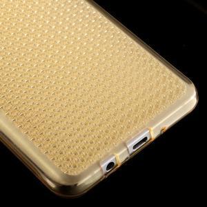 Diamonds gelový obal mobil na Samsung Galaxy J5 (2016) - zlatý - 4