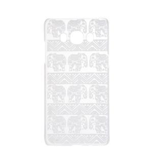 Transparentní plastový obal na Samsung Galaxy J5 (2016) - sloni - 4