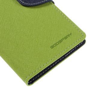 Diary PU kožené pouzdro na mobil Samsung Galaxy J5 (2016) - zelené - 4
