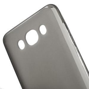 Oboustranně matný gelový obal na Samsung Galaxy J5 (2016) - šedý - 4