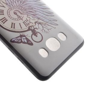 Casis gelový obal na mobil Samsung Galaxy J5 (2016) - antické hodiny - 4