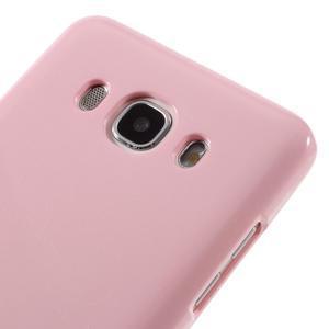 Newsets gelový obal na Samsung Galaxy J5 (2016) - růžový - 4