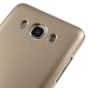 Newsets gelový obal na Samsung Galaxy J5 (2016) - zlatý - 4