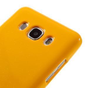 Newsets gelový obal na Samsung Galaxy J5 (2016) - žlutý - 4
