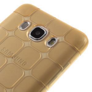 Cube gelový obal na Samsung Galaxy J5 (2016) - zlatý - 4