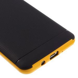 Hybridní obal 2v1 na mobil Samsung Galaxy J5 (2016) - žlutý - 4