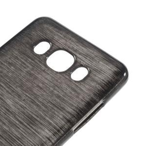 Brushed gelový obal na mobil Samsung Galaxy J5 (2016) - černý - 4
