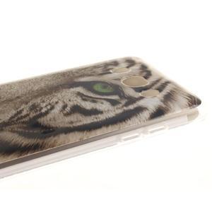 Gelový obal na mobil Samsung Galaxy J5 (2016) - bílý tygr - 4