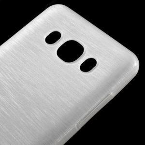 Brushed gelový obal na mobil Samsung Galaxy J5 (2016) - bílý - 4