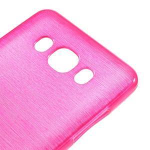 Brushed gelový obal na mobil Samsung Galaxy J5 (2016) - rose - 4