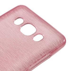 Brushed gelový obal na mobil Samsung Galaxy J5 (2016) - růžový - 4