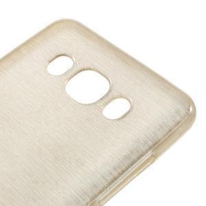 Brushed gelový obal na mobil Samsung Galaxy J5 (2016) - champagne - 4