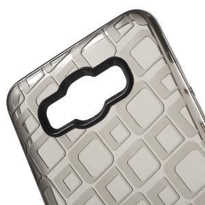 Square gelový obal na Samsung Galaxy J5 (2016) - šedý - 4