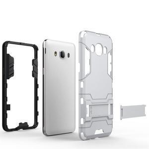 Odolný kryt na mobil Samsung Galaxy J5 (2016) - šedomodrý - 4