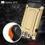 Armor 2v1 odolný obal na Samsung Galaxy J5 (2016) - zlatý - 4/6