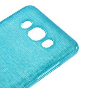 Brushed gelový obal na mobil Samsung Galaxy J5 (2016) - modrý - 4