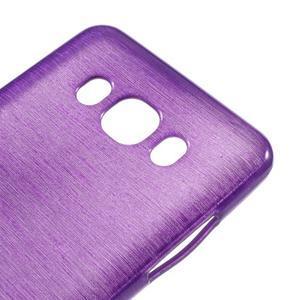 Brushed gelový obal na mobil Samsung Galaxy J5 (2016) - fialový - 4