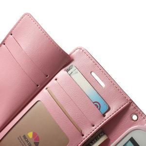 RichDiary PU kožené pouzdro na Samsung Galaxy S3 - rose - 4