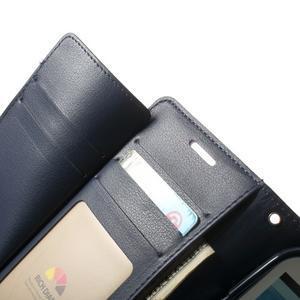 RichDiary PU kožené pouzdro na Samsung Galaxy S3 - fialové - 4