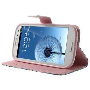 Funy pouzdro na mobil Samsung Galaxy S3 - květiny - 4