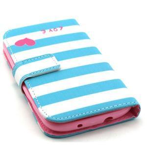 Knížkové pouzdro na mobil Samsung Galaxy S3 - love - 4