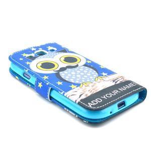Pictu pouzdro na mobil Samsung Galaxy S3 - sova s vousem - 4