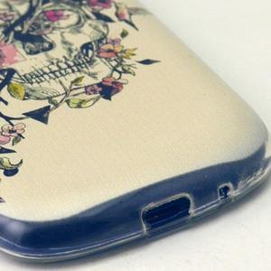 Gloss gelový kryt na Samsung Galaxy S3 mini - lebka - 4