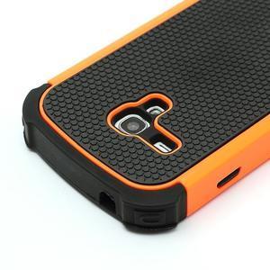 Outdoor odolný obal na mobil Samsung Galaxy S3 mini - oranžový - 4