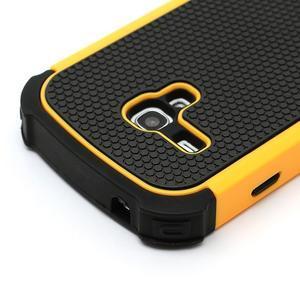 Outdoor odolný obal na mobil Samsung Galaxy S3 mini - žlutý - 4