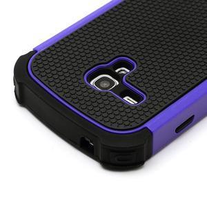 Outdoor odolný obal na mobil Samsung Galaxy S3 mini - fialový - 4