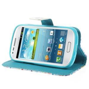Knížkové pouzdro na mobil Samsung Galaxy S3 mini - Londýn - 4