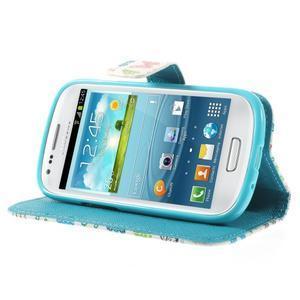 Knížkové pouzdro na mobil Samsung Galaxy S3 mini - motýlci - 4